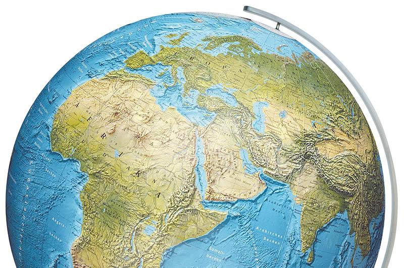 globus og kart Columbus globus   Duorama Globe 34 cm   Nautisk Fritid globus og kart