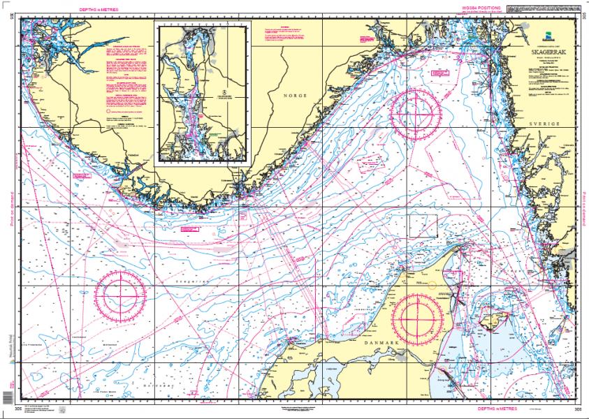 kart skagerak 305: Skagerak, Østre Blad   Nautisk Fritid