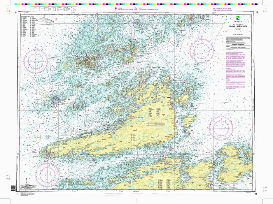 kart over frøya 41: Frøya Gjæsingen   Nautisk Fritid kart over frøya