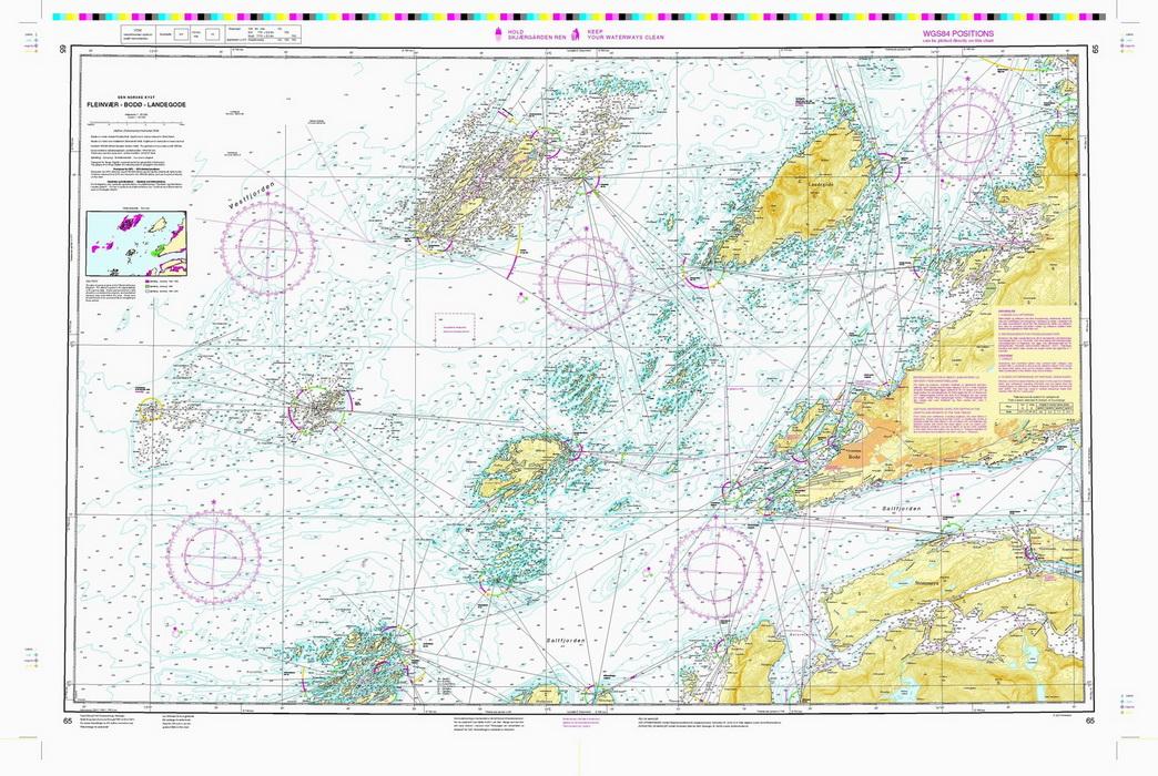 fleinvær kart 65: Fleinvær   Bodø   Landegode   Nautisk Fritid