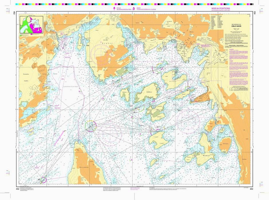 oslo havn kart 452: Oslo havn   Nautisk Fritid oslo havn kart